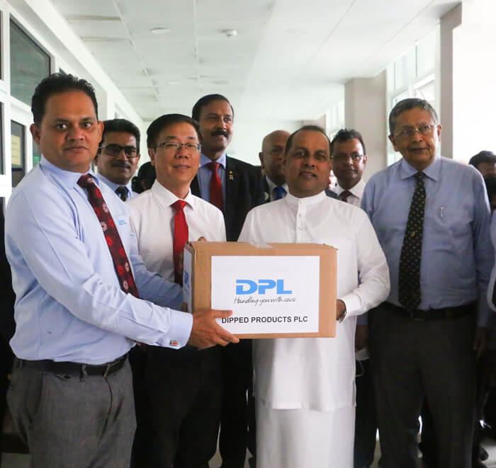 DPL-Glove-Donation-for-Beach-Cleanup-Sri-Lanka