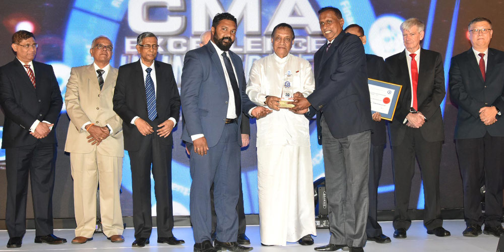 CMA EXCELLENCE IN INTEGRATED REPORTING AWARDS 2019