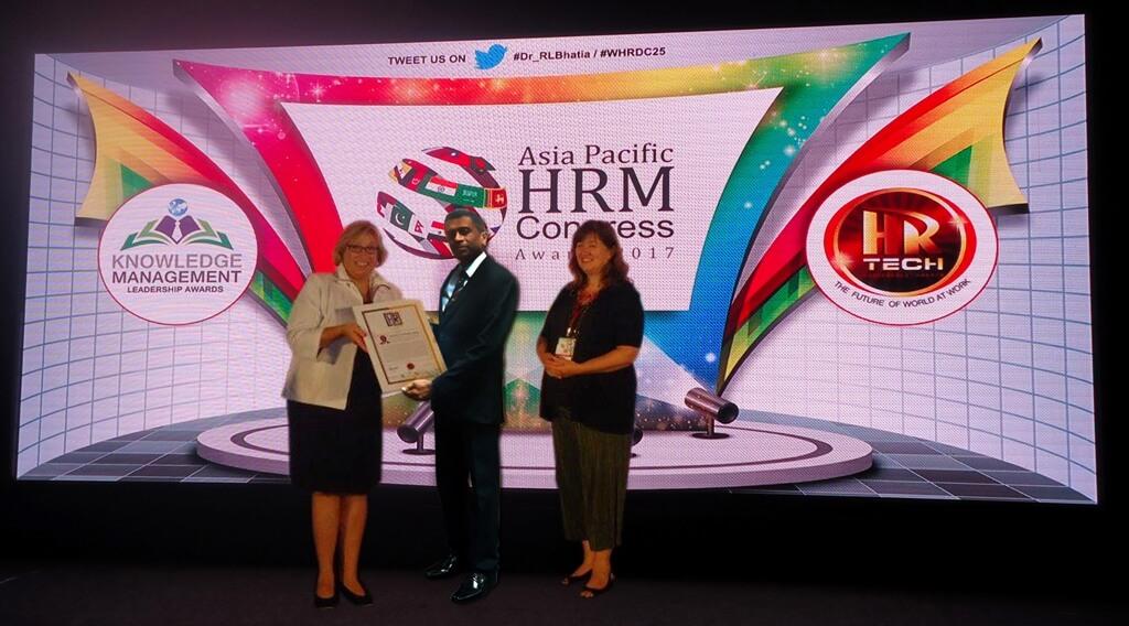 ASIA PACIFIC HRM CONGRESS AWARDS 2017