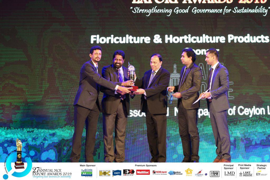 NCE Exports Awards 2019 – Hayleys Agro Biotech (Pvt)Ltd