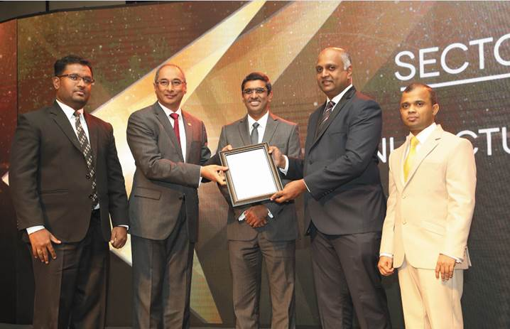 Won the Bronze Award for the 2nd consecutive year in the Manufacturing Sector at the Annual Report Awarding Ceremony -2016 Organized by CA Sri Lanka and Colombo Stock Exchange.