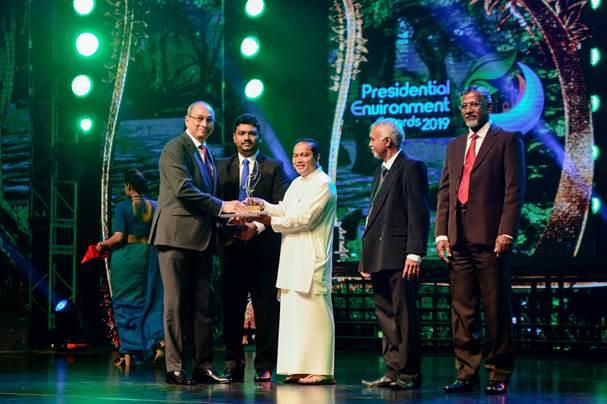 Hayleys Fabric Received Bronze Award at Presidential Environmental Awards 2019